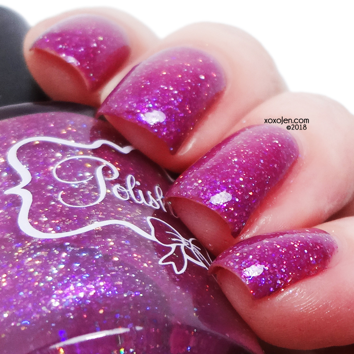 xoxoJen's swatch of Polish 'M Fierce Mind, Brave Spirit