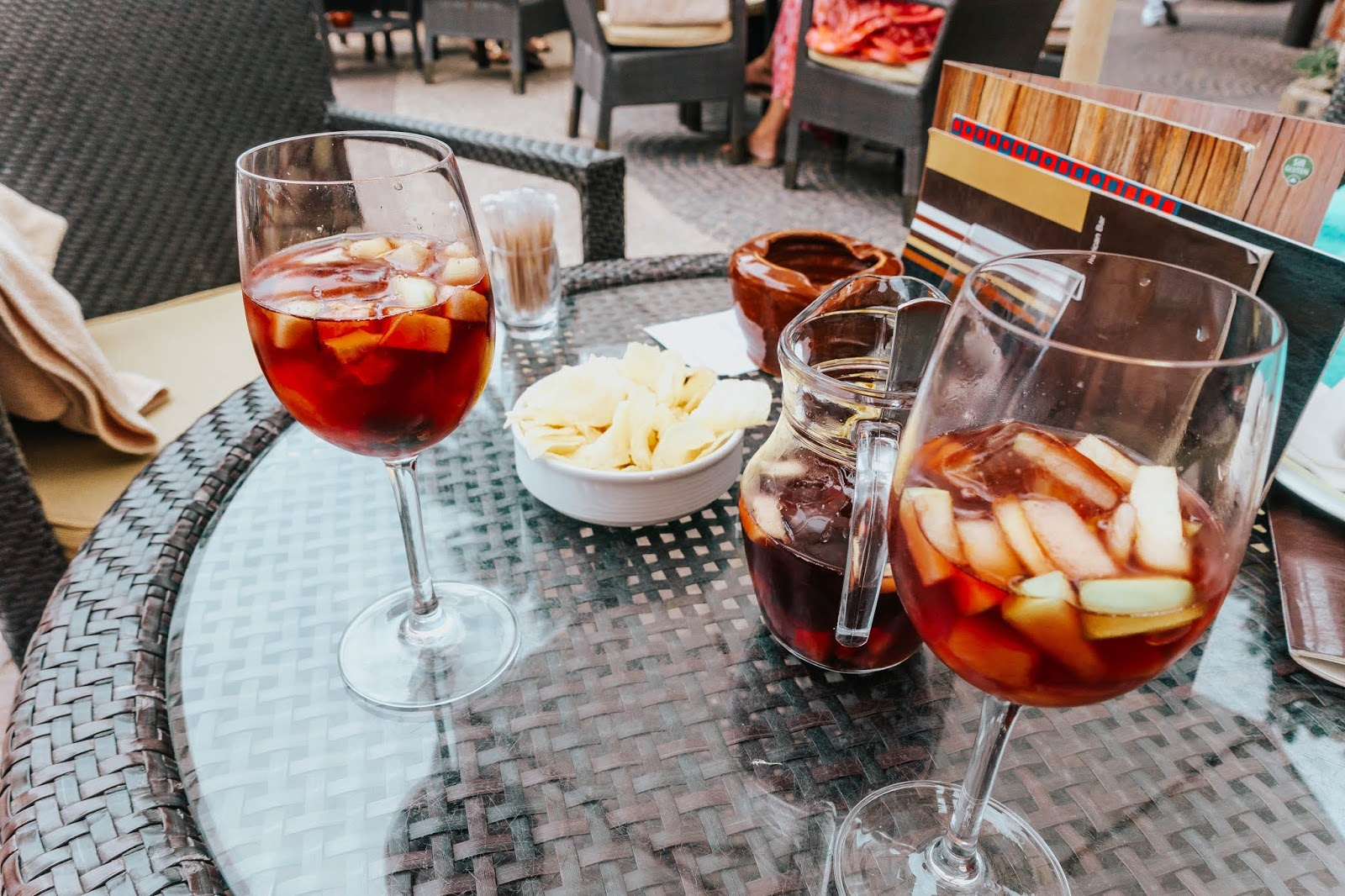 Sangria in Canary Islands