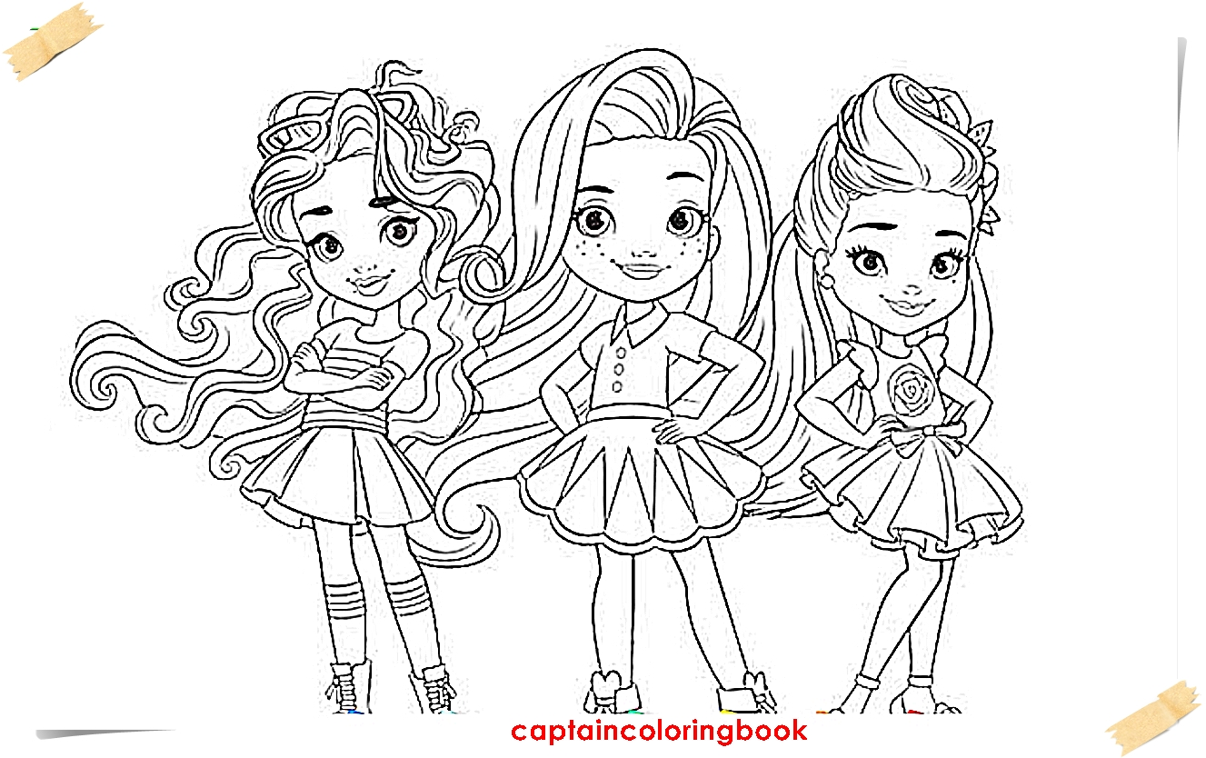 Sunny Coloring Page Sunny Day Meet Sunny Colouring Page