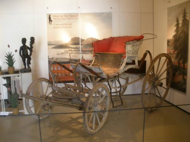 Museo de Utensilios en el Museo Folklórico Noruego (Norsk Folkemuseum)