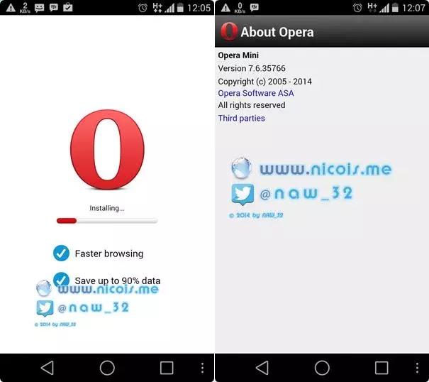 Opera mini 6 apk download
