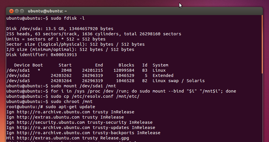 How To Fix A Non-Bootable Ubuntu System Due To Broken