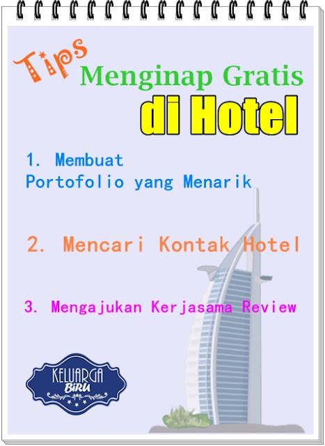 Tips Menginap Gratis di Hotel
