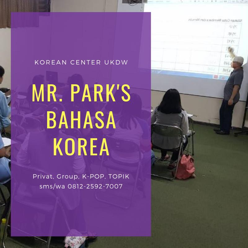 Kelas Mr.Park