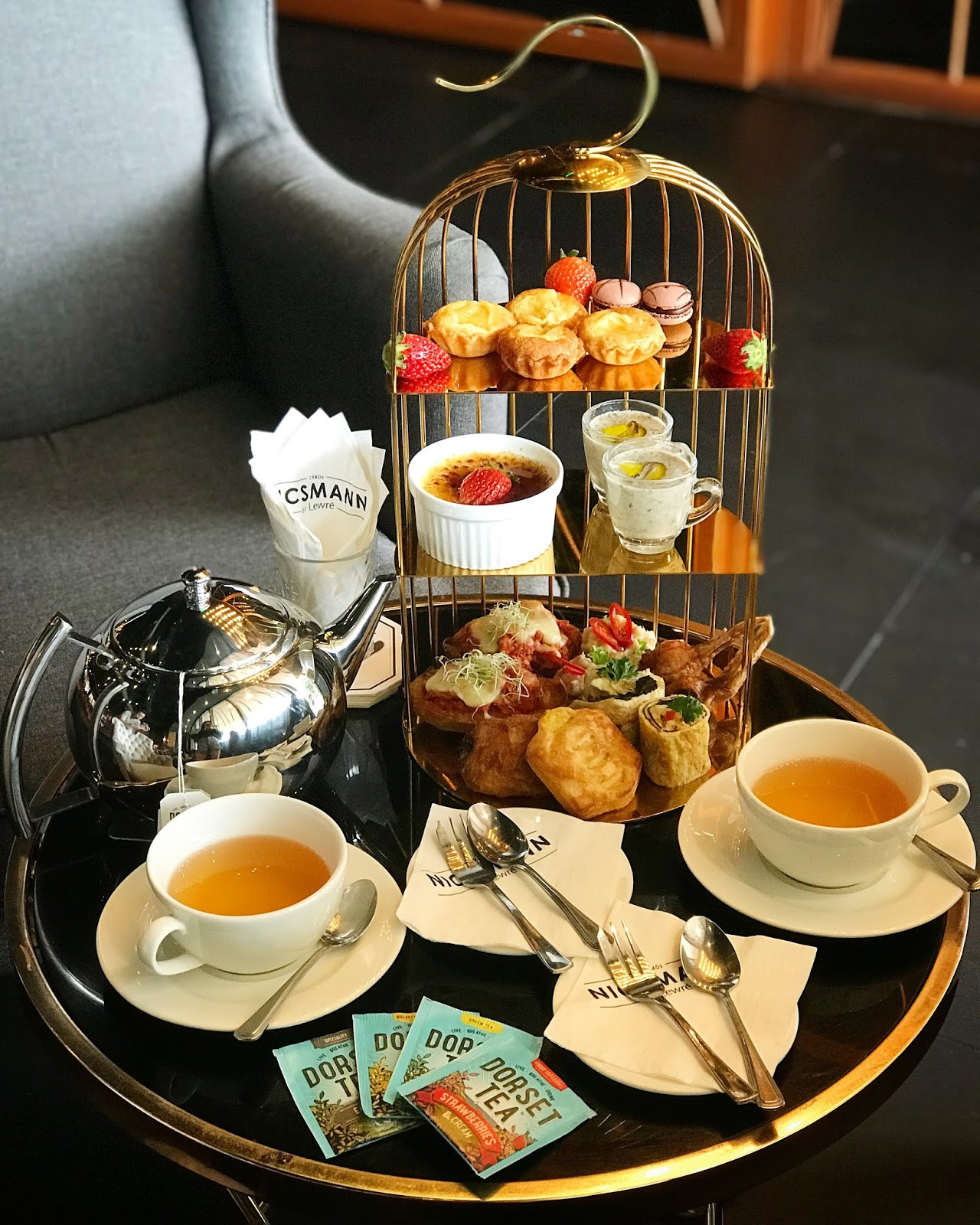 [High Tea Review] Discover 'Hi-Tea On the Park' @ Nicsmann 1940s by Lewre, The Starling Mall