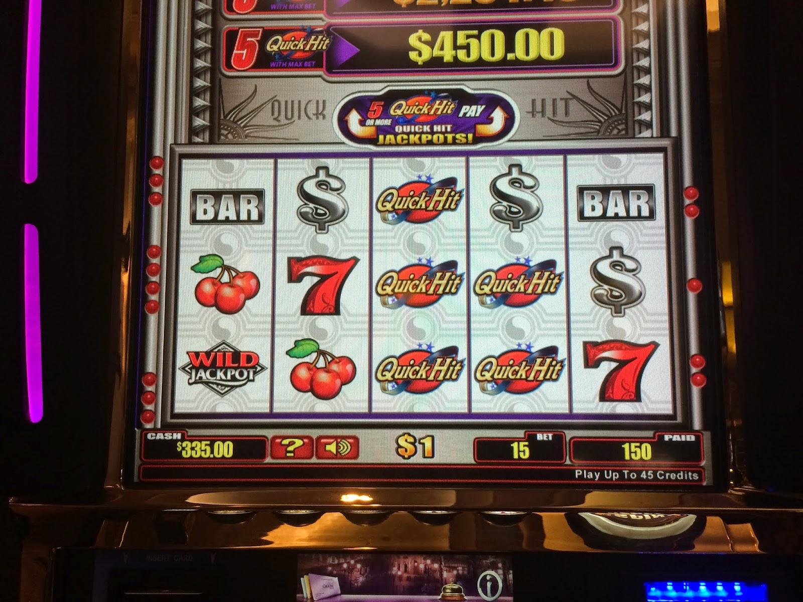 Quick hit dollar slot machine