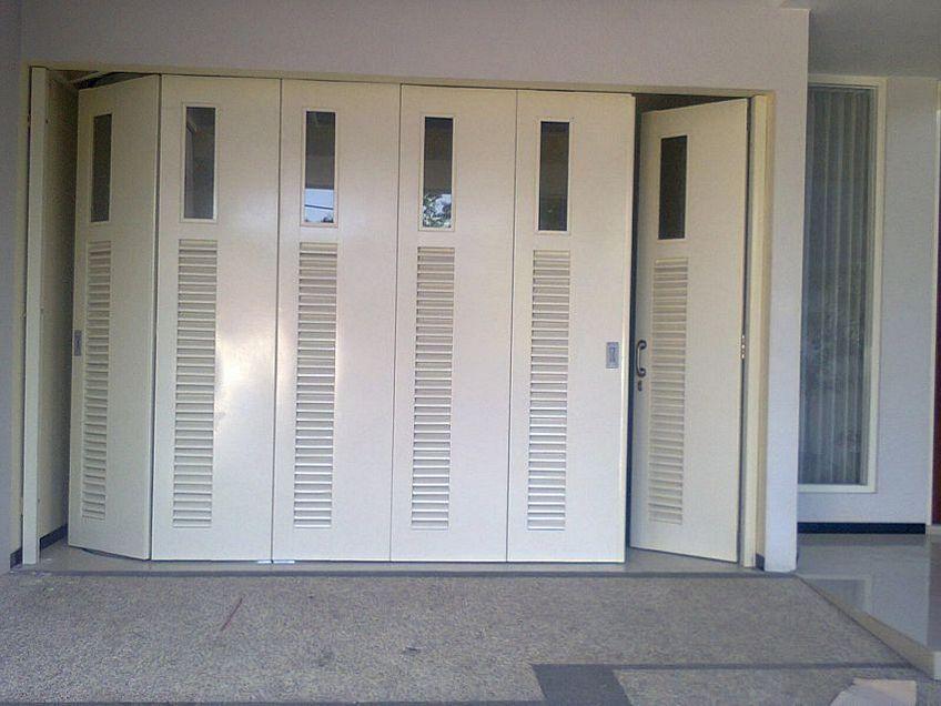 pintu dorong lipat 3