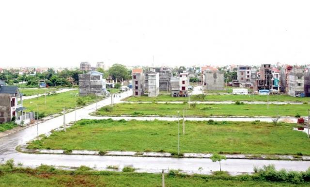 Đất thu hồi phục vụ dự án đô thị, công nghiệp, giao thông