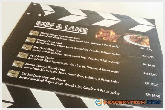 Menu BEEF & LAMB Pak Uda Kitchen & Grill
