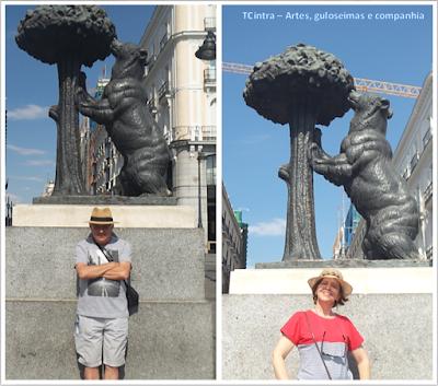Madrid; Viagem Europa; Turismo na Espanha; Plaza Puerta del Sol; O Urso e o Medronheiro