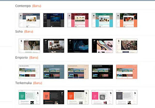 Template bawaan blogger terbaru yang ringan, cepat dan seo friendly