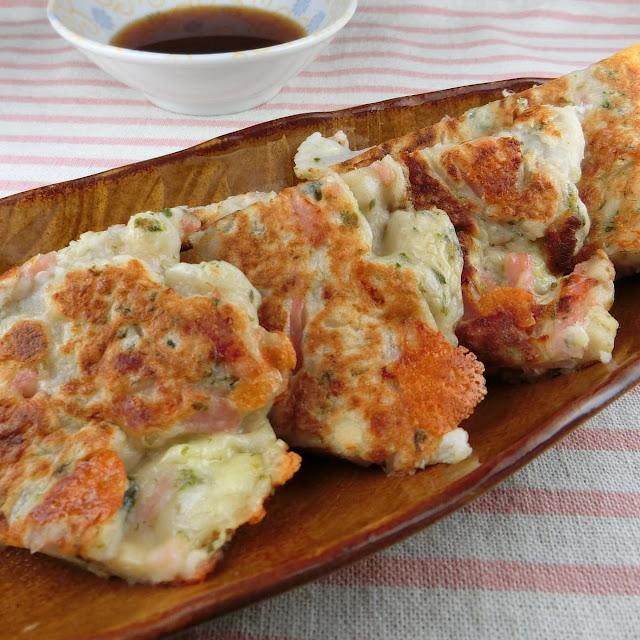 紅生姜とチーズ入り里芋焼きは一度食べたら忘れられないおいしさ