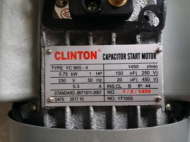 ขาย มอเตอร์ไฟฟ้า 1 แรง 2 สาย