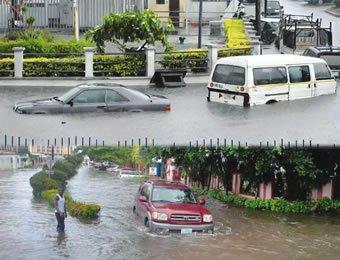 17 hours heavy rainfall lagos ogun states