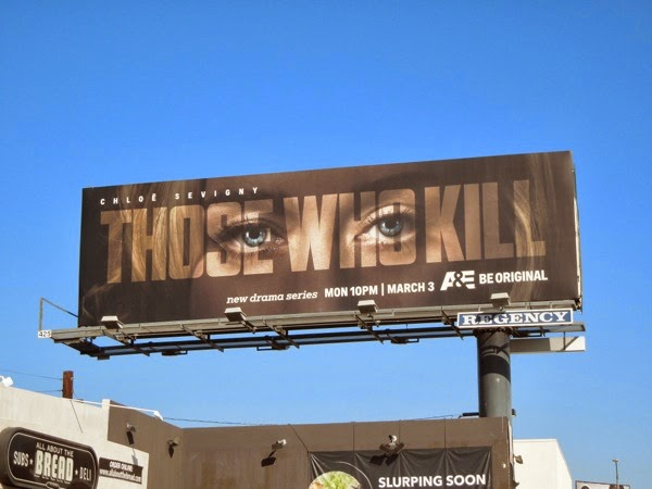 Those Who Kill series premiere billboard