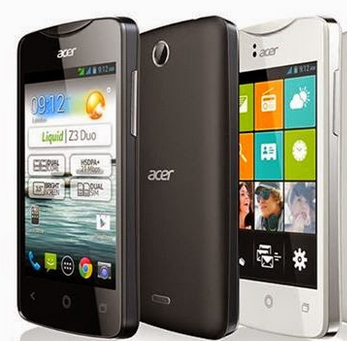 Download Firmware Acer Liquid Z3 Z130
