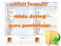 Contoh Format Formulir Tatap Muka Moda Daring Guru Pembelajar