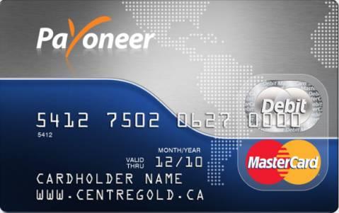 Online Earning: International Payoneer David Mastercard for free