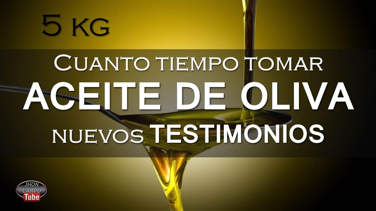 Tomar aceite de oliva engorda