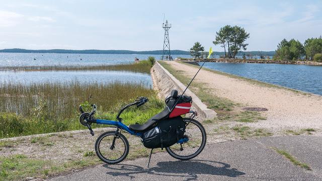Vélodyssée - la voie verte à Lacanau