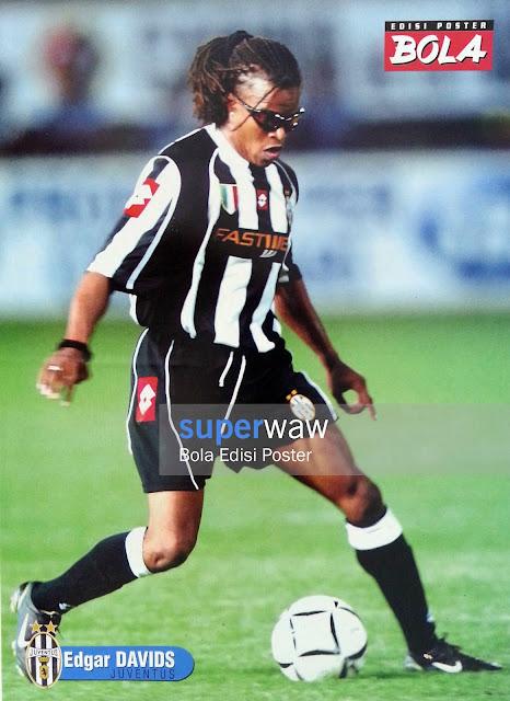 Poster Edgar Davids (Juventus)