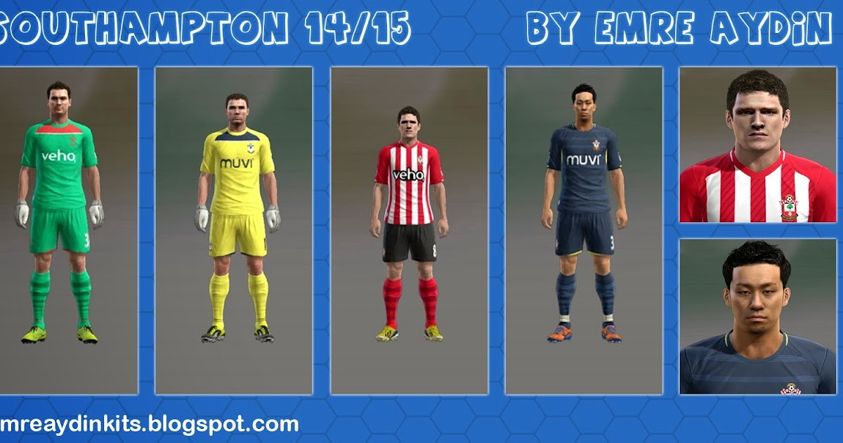 brand new 29aab 1230f ... PES 2013 Southampton 1415 Kits by Emre Aydin - the pes ...