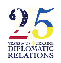 25 YEARS of US-UKRAINE DIPLOMATIC RELATIONS
