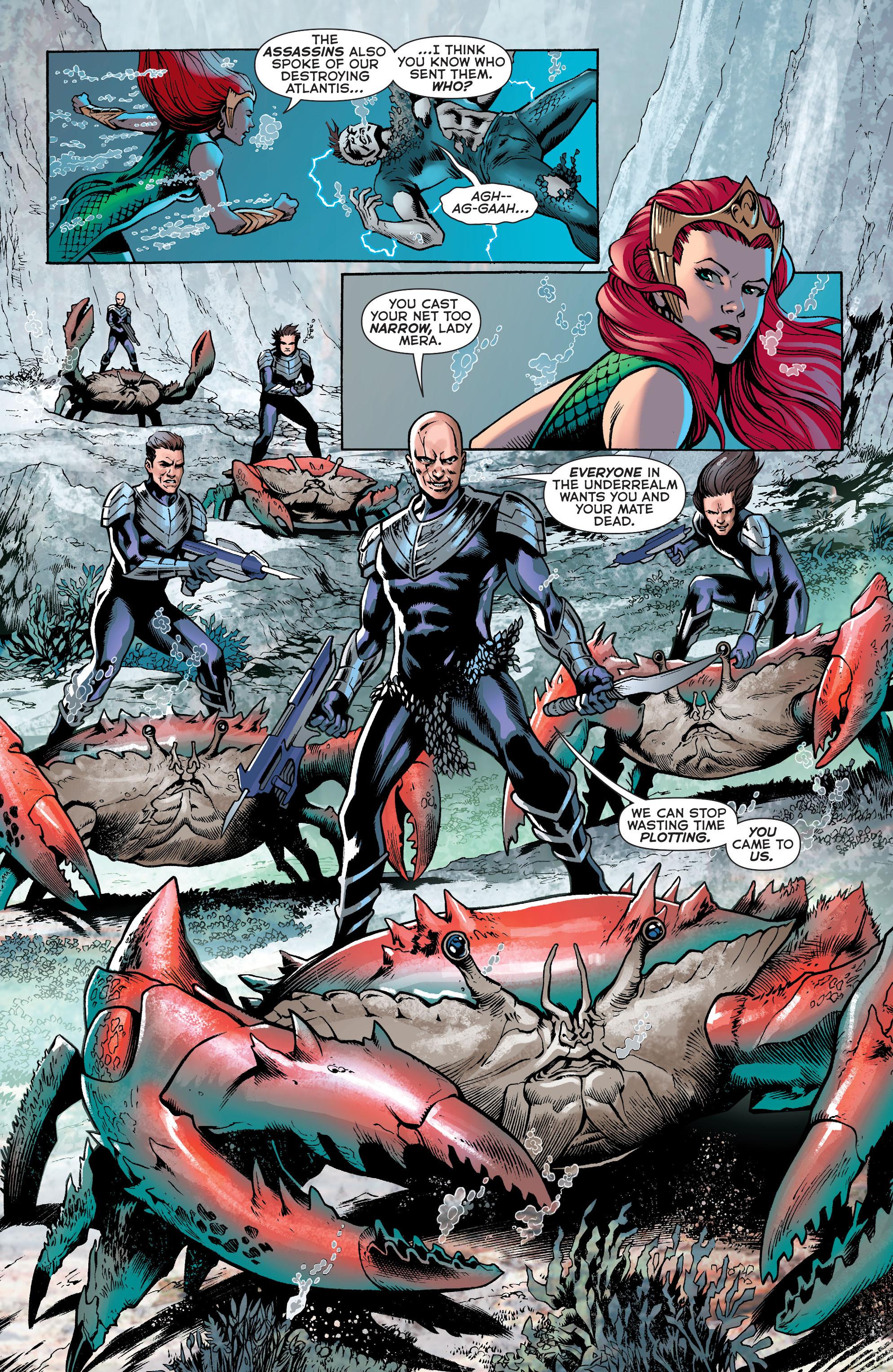 Read online Aquaman (2011) comic -  Issue #31 - 13