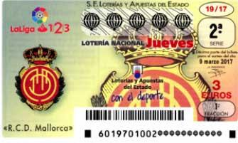 loteria nacional jueves 9 marzo de 2017