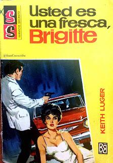 Keith Luger, novela negra, Bruguera, 1968