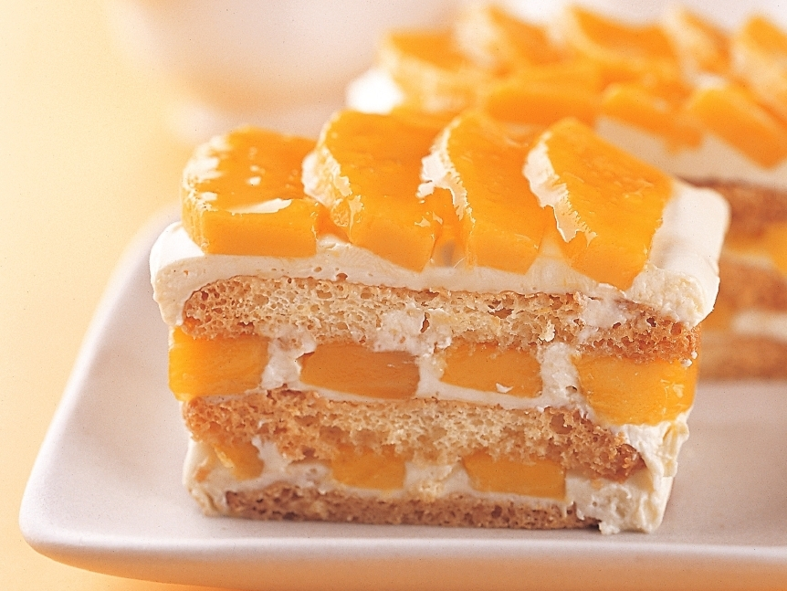 Japanese Mango Cake Recipe: Real Asian Beauty: Comfort Food