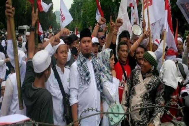 Dipolisikan, Di Balik Orasi Dhani Ada Nama Jokowi Disebut