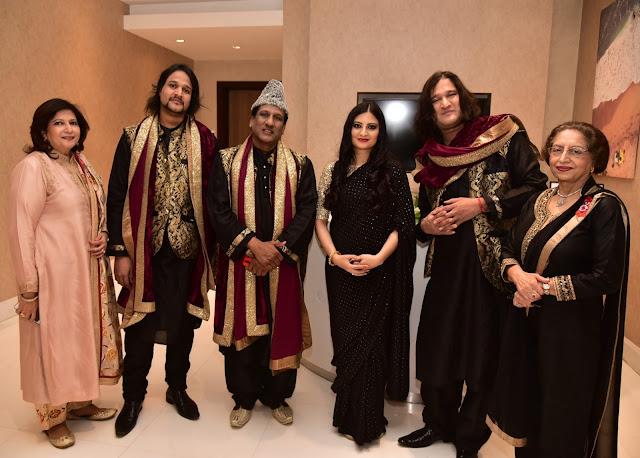 Dolly Bhatia, Shorabh Faridi Nizami, Ustad Chand Nizami, Leher Sethi, Shadab Faridi Nizami, Pratibha Chandra