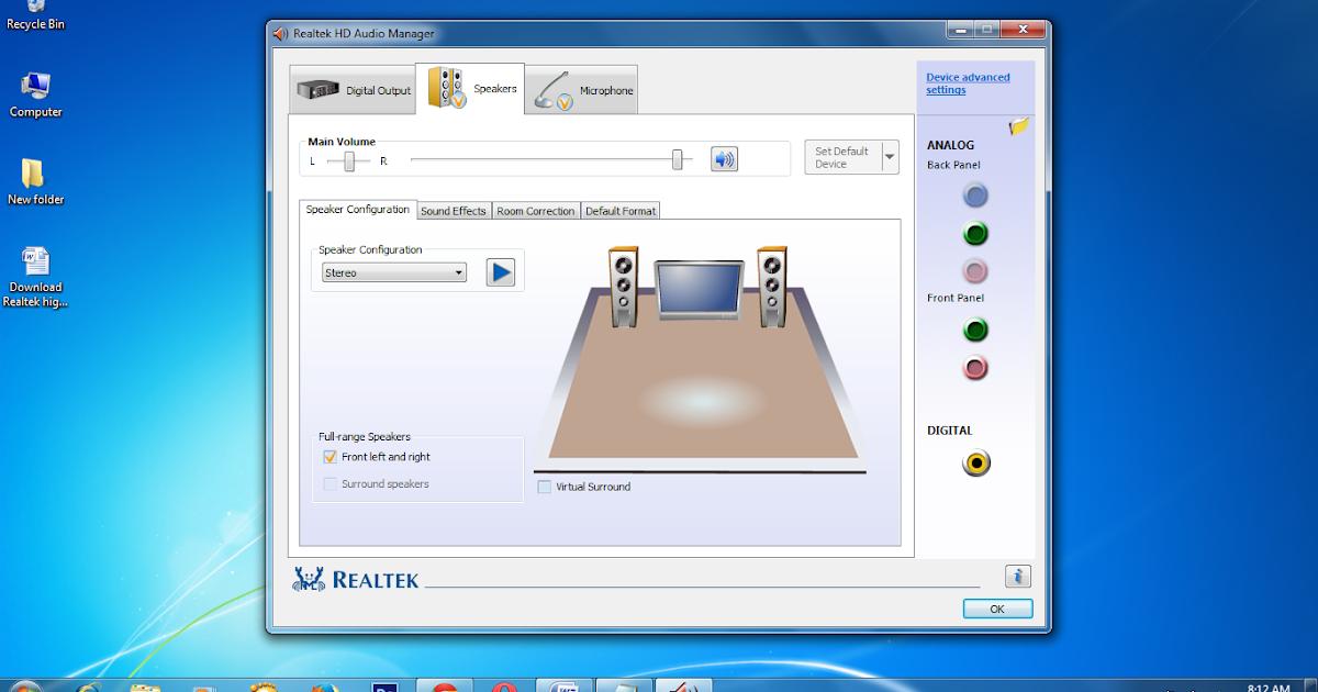 Realtek* High Definition Audio Driver for Windows® 10 64 ...