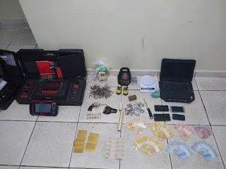 Polícia militar prende traficante em Iguape