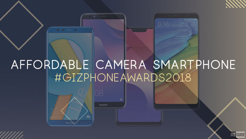 Affordable camera smartphone of the year (Under PHP 10K)