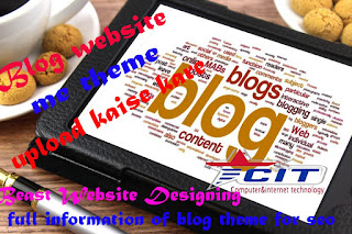 upload blog template