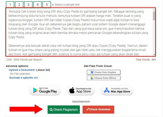 cek tulisan blog Ori atau copy paste (copas)