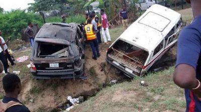 Pop Star, Terry G Survives Fatal Car Crash (Photos)