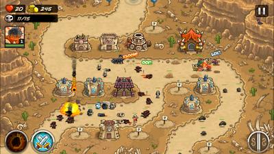 لعبة Kingdom Rush Frontiers المدفوعة مجاناً للأندرويد