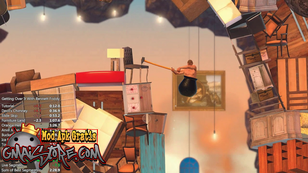 Getting Over it With Bennett Foddy APK terbaru
