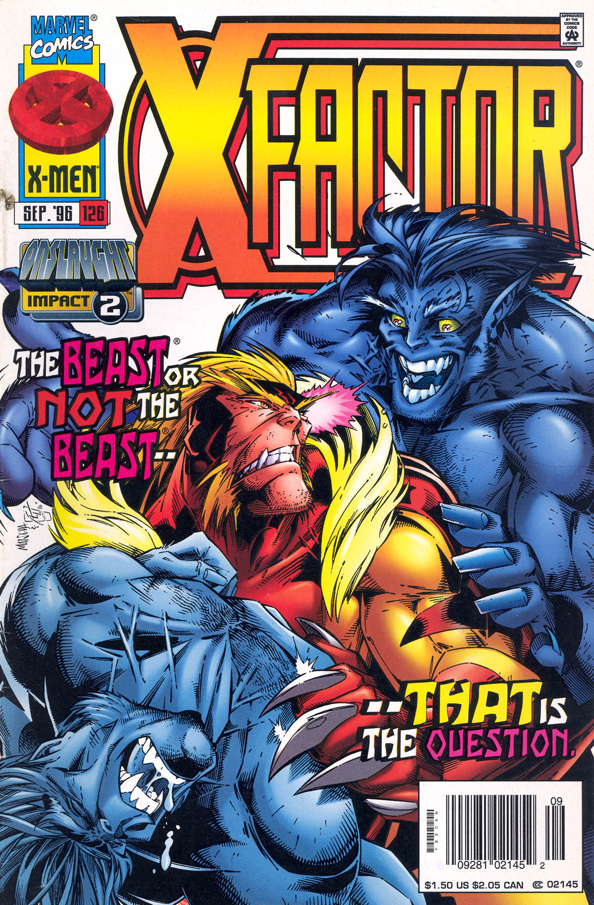 Read online X-Factor (1986) comic -  Issue #126 - 1