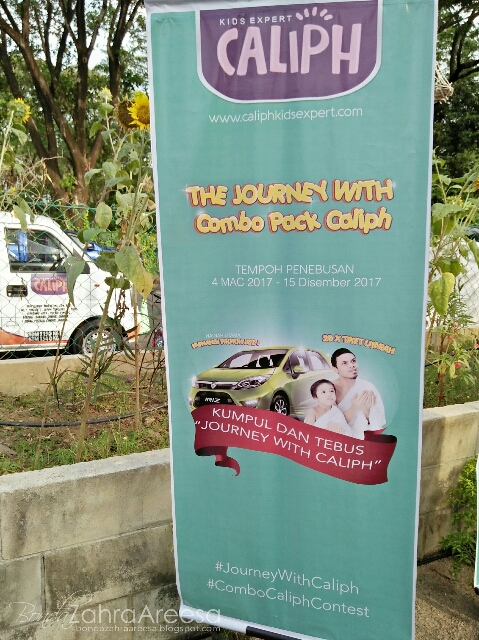 caliph combo pack, peraduan cabutan bertuah  the journey with caliph