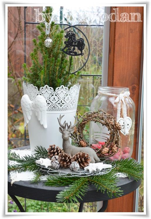 Weihnachtsdekoration für draußen