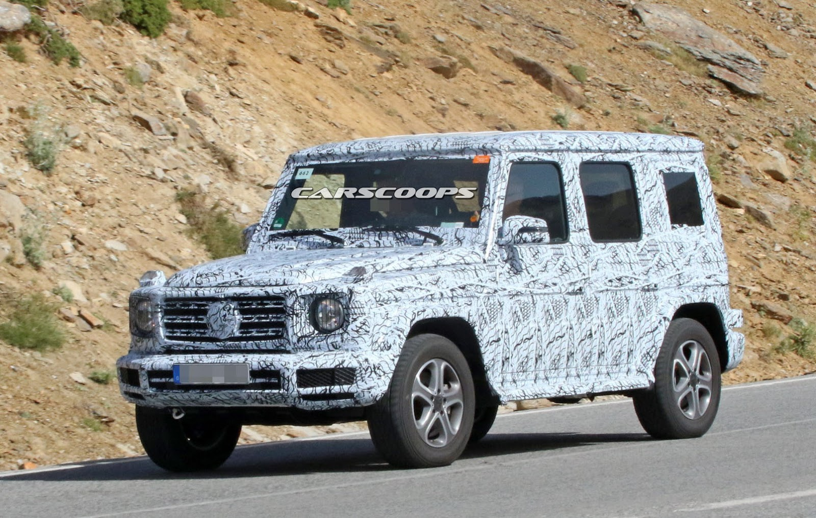 New mercedes g class heading to frankfurt show for for New mercedes benz g wagon