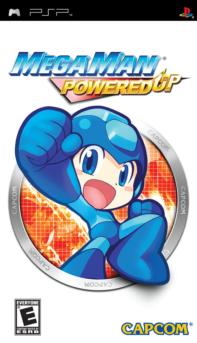ROMs - Megaman Powered Up - PSP Download