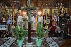 Επιμνημόσυνη δέηση στον Καθεδρικό Ι.Ν. Θείας Ανάληψης στην Κατερίνης για την Ημέρα Εθνικής Μνήμης της Γενοκτονίας των Ελλήνων της Μικράς Ασίας.