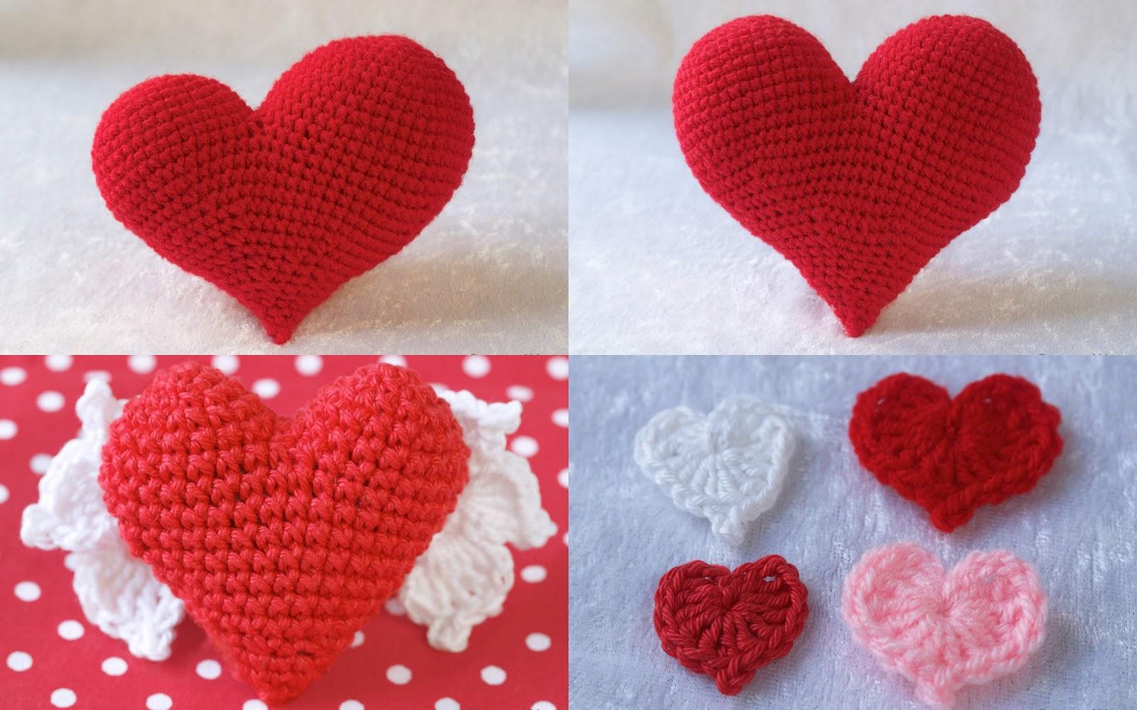 Сердечко крючком схема для начинающих фото 723