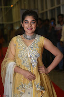 Nivetha Thamos in bright yellow dress at Ninnu Kori pre release function ~  Exclusive (8).JPG