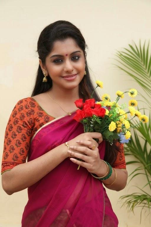 Meera Nandan In Half Saree Latest Hot Photos